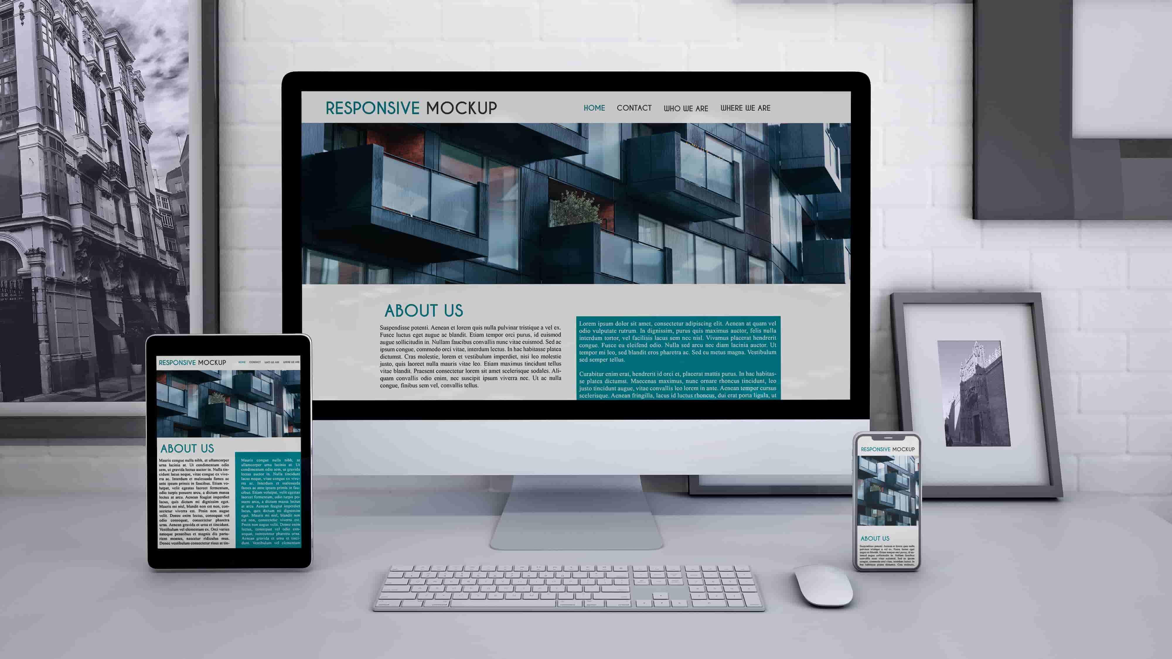 Создание сайта компании - корпоративный сайт