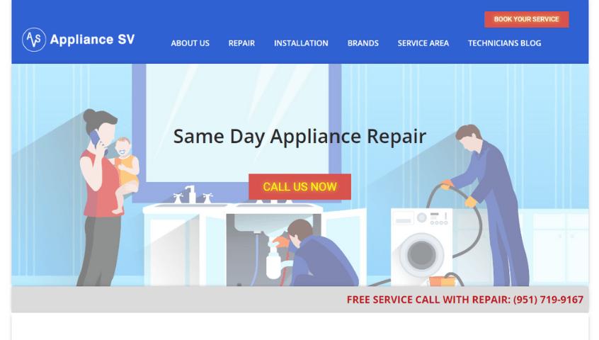 Створення сайту компанії - Сайт американської компанії