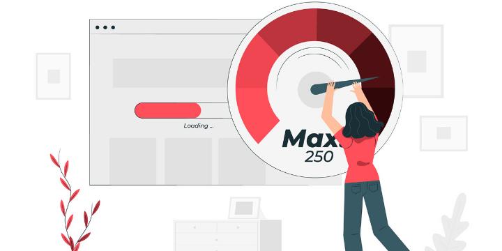 Создание интернет магазина - Быстрая скорость загрузки сайта