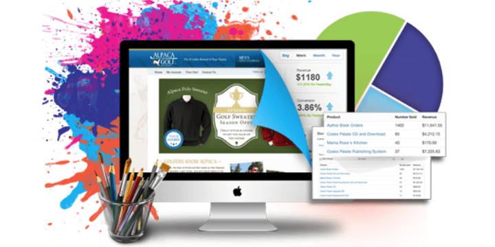 Создание интернет магазина - Уникальный адаптивный дизайн сайта